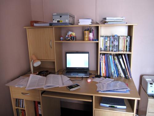 bureau de prof