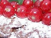 Moelleux chocolat groseilles