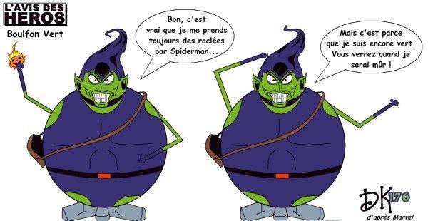 L 39 avis des h ros le bouffon vert green goblin voir - Bouffon vert coloriage ...