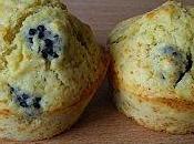 Muffins vanille mûres