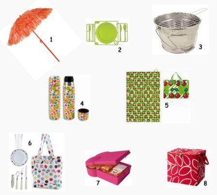 Pique nique : Huit idées shopping