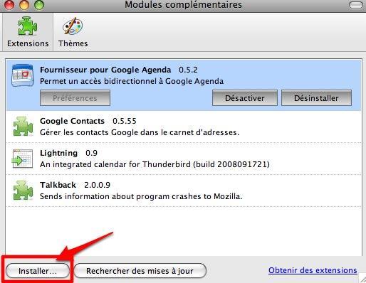 Comment synchroniser le calendrier de thunderbird avec yahoo agenda ou google agenda d couvrir - Installer google sur le bureau ...
