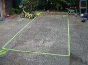 Zone d'une équipe Basic-Volley