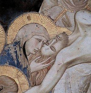 Résultats de recherche d'images pour «souffrance de Marie lors de la mise au tombeau de Jésus»