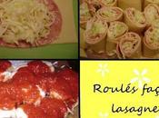 Roulés façon lasagne