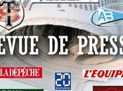 Stade Toulousain Aviron Bayonnais: revue presse