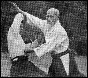 Tsuki avec le poing en Aïkido