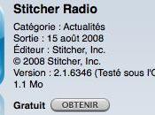 Stitcher Radio Podcast application Gratuite Store