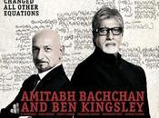Amitabh Bachchan Kingsley, ensemble l'affiche Teen Patti.