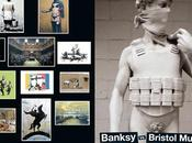 Banksy bristol museum postcards posters