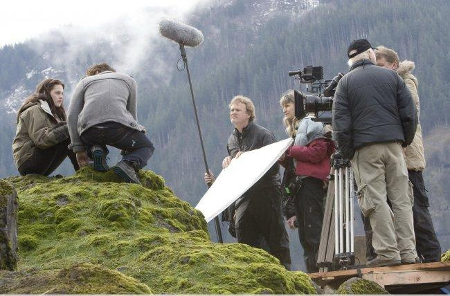 Twilight Fascination : souvenir de tournage (photos) - ACTION !