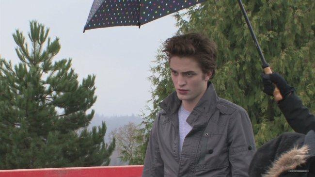 Twilight Fascination : souvenir de tournage (photos) - Attention Action !