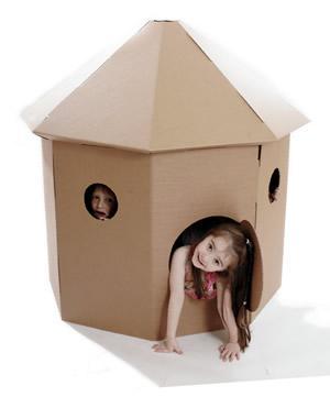 maison carton enfant trouvez le meilleur prix sur voir avant d 39 acheter. Black Bedroom Furniture Sets. Home Design Ideas