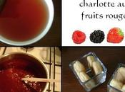 Verrine façon charlotte fruits rouges