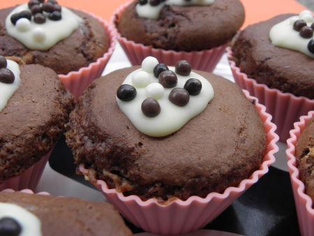 muffins chocolat au lait et clats de galak paperblog. Black Bedroom Furniture Sets. Home Design Ideas