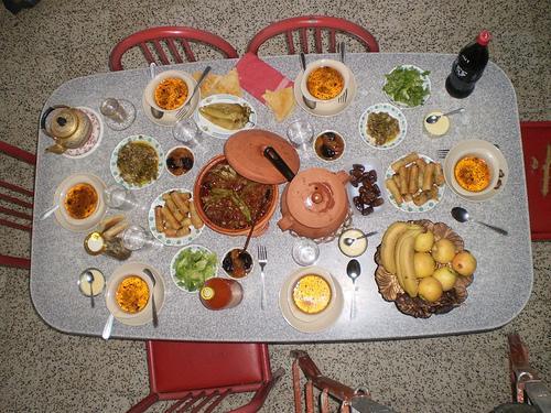 Table Marocaine Ramadan Table du 1er Jour de Ramadan