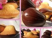 Madeleines l'orange coque chocolat