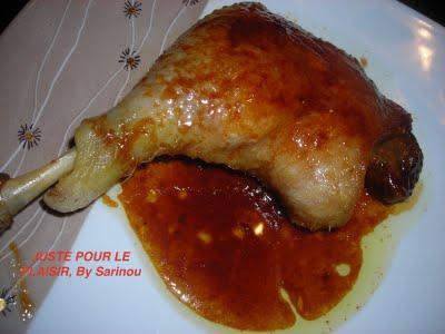 Cuisses de canard confites poires et figues voir - Recette de cuisse de canard en sauce ...