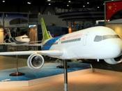 maquette moyen-courrier chinois C919 lors l'Asian Aerospace Hong Kong