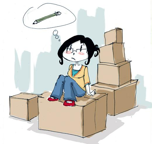 Bien connu Enfer de déménagement !!! | À Voir PS16