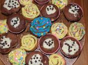 Cupcakes piña colada