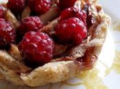 Tartelette pommes framboises