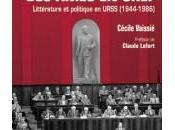 ingénieurs âmes chef. Littérature politique URSS (1944-1986)