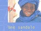"""""""Une sandale dans désert"""" François Lefort"""