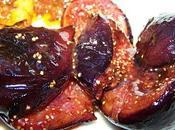 Figues roties vinaigre balsamique