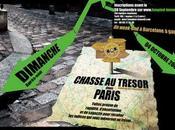 Nouvelle chasse trésor dans Paris
