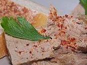 Mousse foie volaille piment d'Espelette.