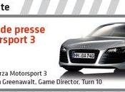 Forza Motorsport face presse