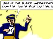 Poste grève contre… files d'attente