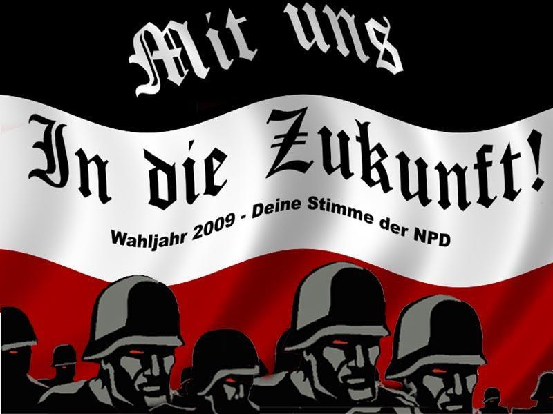 LES IDENTITAIRES NÉO-NAZIS S'IMPLANTENT DANS L'ANCIENNE ALLEMAGNE DE L'EST