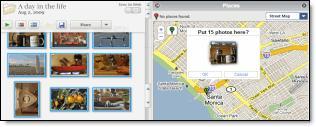 picasa 93773 new maps Picasa 3.5: reconnaissance faciale et géolocalisation