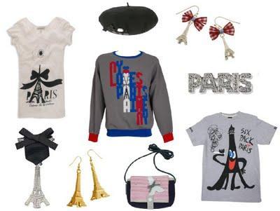 Mini-trend : I LOVE PARIS