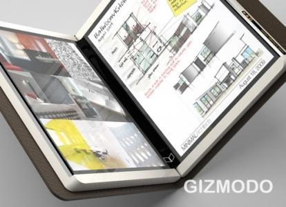 Courrier : La tablette double écran tactile... de Microsoft