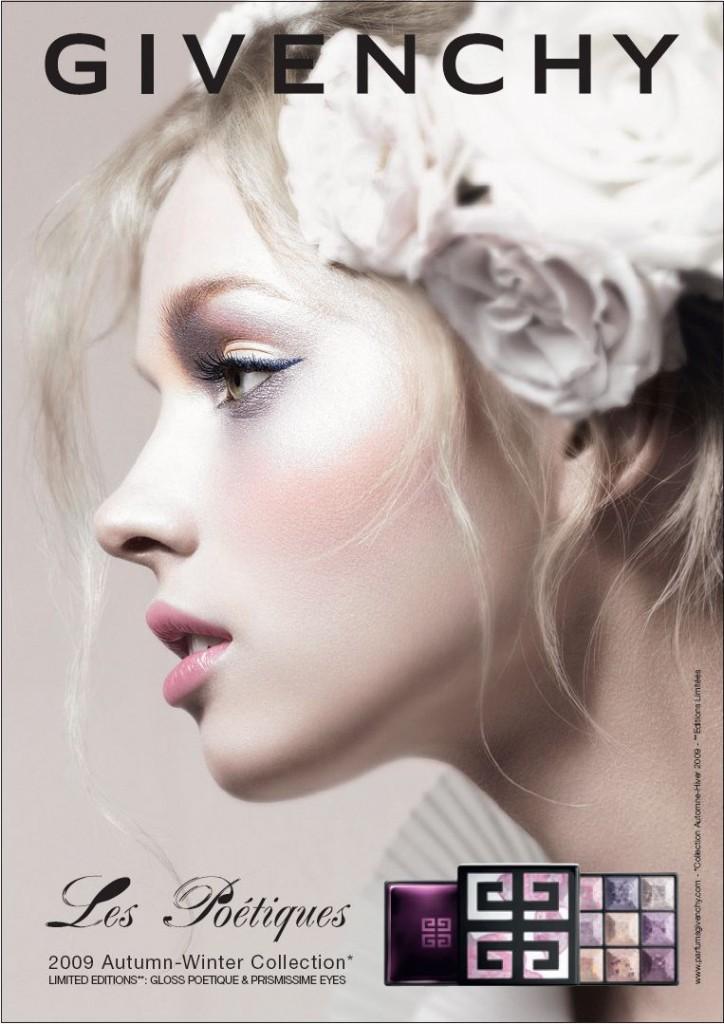 Collection Les Poétiques, le maquillage automne 2009 de Givenchy