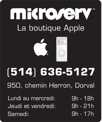 Microserv est fermé
