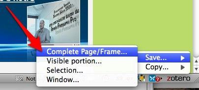 screengrab Screengrab, un utilitaire de capture d'écran pour Firefox
