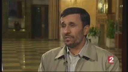 Entrevue du président iranien