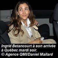 Entrevue de Ingrid Betancourt CE SOIR