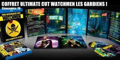 Coffret ultimate Watchmen les Gardiens