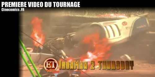 vidéo sur le tournage de Iron-man 2
