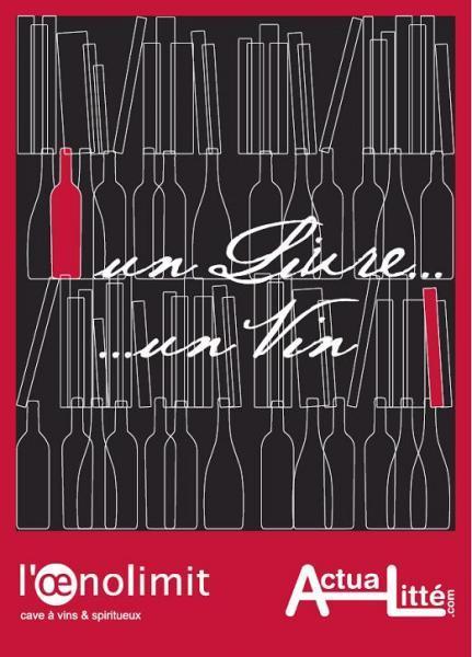 Un livre Un vin à Bordeaux : Inscrivez-vous sur Facebook !