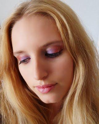 Concours de maquillage: Couleurs improbables, la proposition de Tiphaine