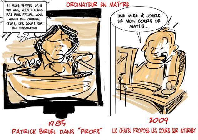 Le numérique dans les écoles : Patrick Bruel avait raison ?