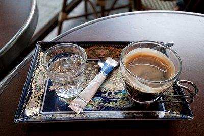 Le café est offert par Charly