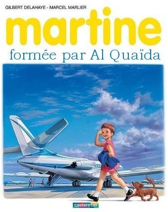 Martine formée par Al Qaida