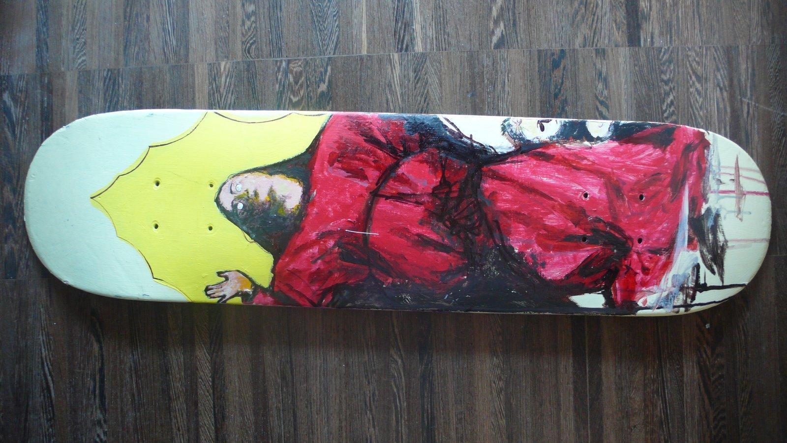 Davide Caforio deck paintings